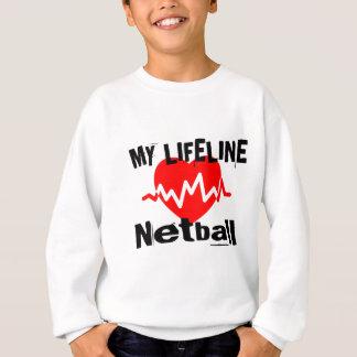 Mijn Design van de Sporten van het Netball van de Trui