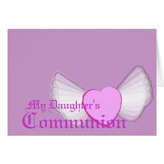 Mijn Dochter Heilige Communiepast aan Kaarten