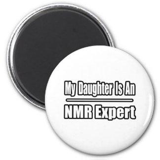 Mijn Dochter is een NMR Deskundige Koelkast Magneetjes