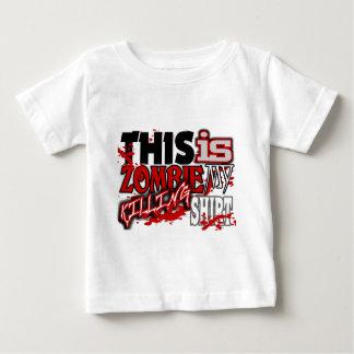 Mijn Dodend Overhemd van de Zombie Baby T Shirts