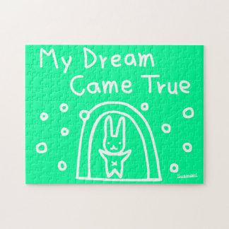Mijn droom kwam waar puzzel