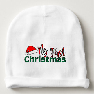 Mijn Eerste Kerstmis Beanie Baby Mutsje