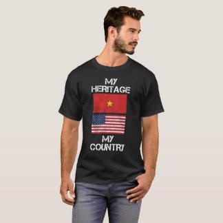 Mijn Erfenis Mijn Vietnamese Amerikaanse T-shirt