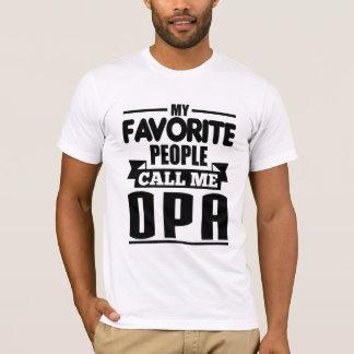 Mijn Favoriete Mensen roepen me Opa T Shirt