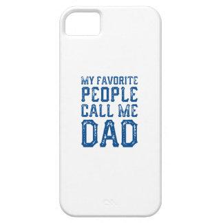 Mijn Favoriete Mensen roepen me Papa Barely There iPhone 5 Hoesje