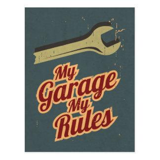 Mijn Garage Mijn Regels Briefkaart