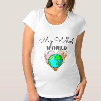Mijn gehele T-shirt van het Moederschap van het