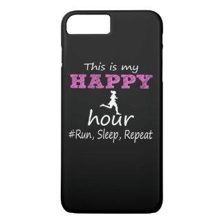 Mijn Gelukkig Uur! De looppas, Slaap, herhaalt… iPhone 8/7 Plus Hoesje