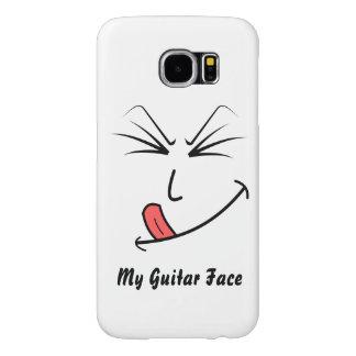 Mijn Gezicht van de Gitaar Samsung Galaxy S6 Hoesje