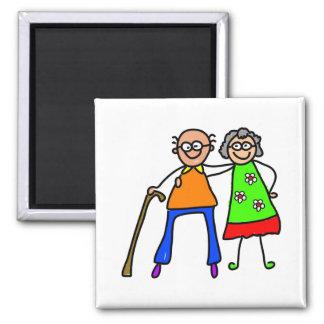 mijn grootouders magneet