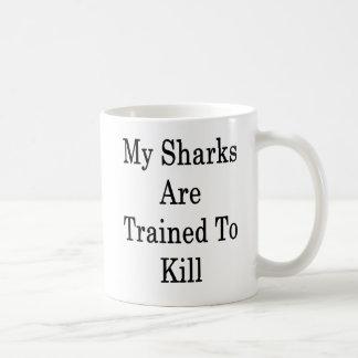 Mijn Haaien worden opgeleid om te doden Koffiemok