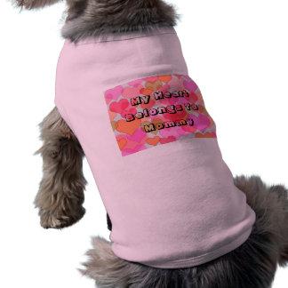 Mijn Hart behoort tot de Klantgerichte Typografie T-shirt