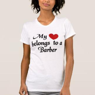 Mijn hart behoort tot een Kapper T Shirt