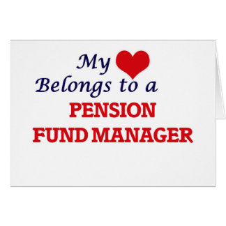 Mijn hart behoort tot een Manager van het Fonds Wenskaart