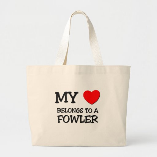 Mijn Hart behoort tot FOWLER Tassen