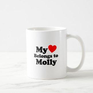 Mijn Hart behoort tot Molly Koffiemok