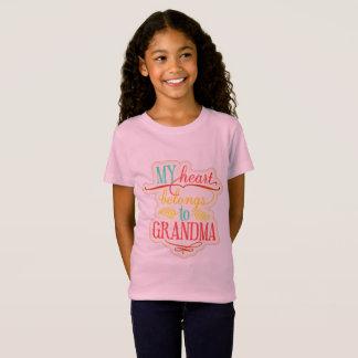 Mijn Hart behoort tot Oma T Shirt