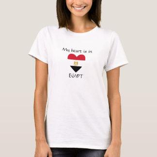 Mijn hart is in EGYPTE T Shirt