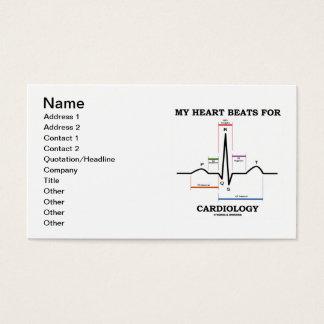 Mijn Hart slaat voor Cardiologie (ECG/EKG) Visitekaartjes