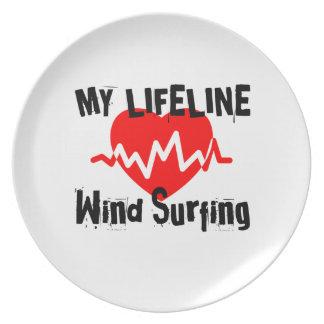 Mijn het Surfen van de Wind van de Lijn van het Melamine+bord