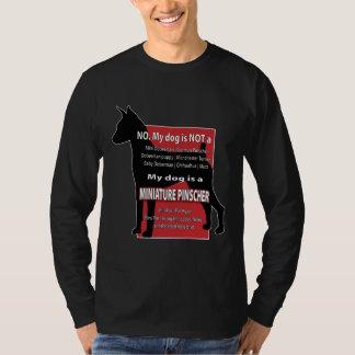 Mijn hond is Geen MiniDobie! T Shirt