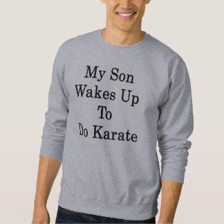 Mijn Kielzog van de Zoon doet tot Karate Trui