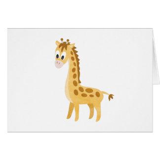 Mijn Kleine Giraf Kaart