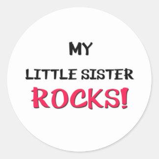 Mijn Kleine Rotsen van de Zuster Ronde Sticker