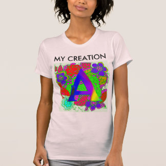 Mijn Kleurrijke Gelukkige Verwezenlijking van T Shirt