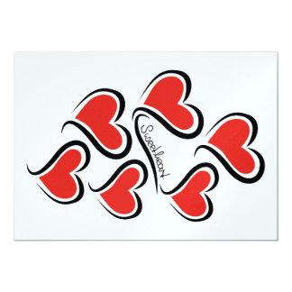Mijn Liefje Valentijn 12,7x17,8 Uitnodiging Kaart