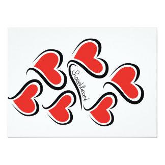 Mijn Liefje Valentijn 13,9x19,1 Uitnodiging Kaart