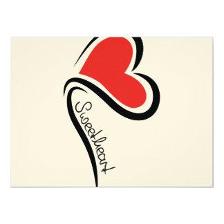Mijn Liefje Valentijn 16,5x22,2 Uitnodiging Kaart