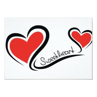 Mijn Liefje Valentijn 8,9x12,7 Uitnodiging Kaart