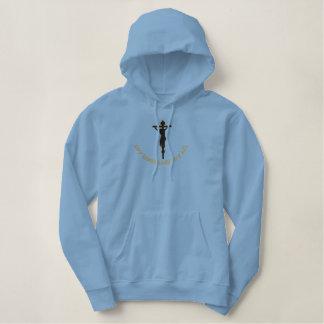 Mijn Lord en het mijn al kruis Geborduurde Sweater Hoodie
