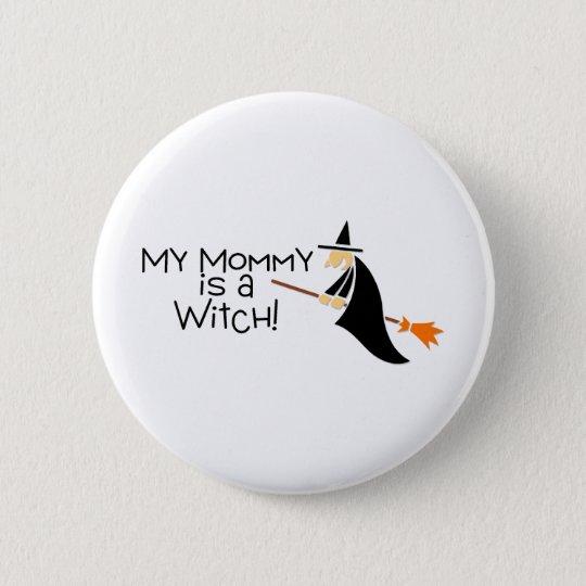 Mijn Mama Is Een Heks Halloween Ronde Button 57 Cm Zazzlenl