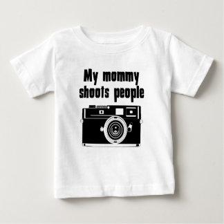 Mijn Mama ontspruit Mensen Baby T Shirts