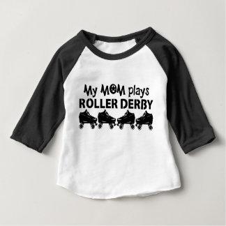 Mijn Mamma speelt de Derby van de Rol, het Baby T Shirts