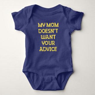 Mijn Mamma wil Uw Raad niet Romper
