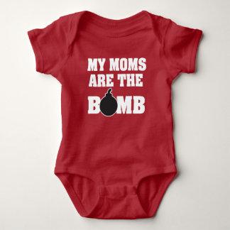 Mijn mamma's zijn het overhemd van het bombaby romper