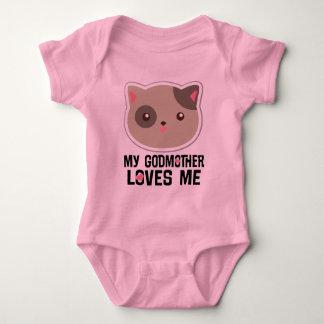 Mijn Meter houdt van me de T-shirt van de Meisjes