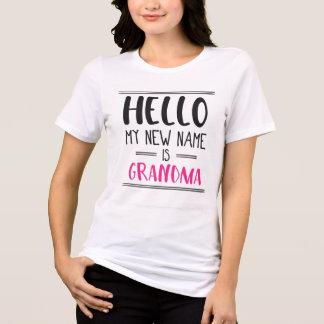 Mijn Nieuwe Naam is Oma - het Nieuwe Overhemd van T Shirt