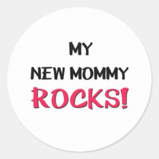 Mijn Nieuwe Rotsen van de Mama Ronde Sticker