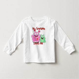 Mijn Oma houdt van me Monster Kinder Shirts