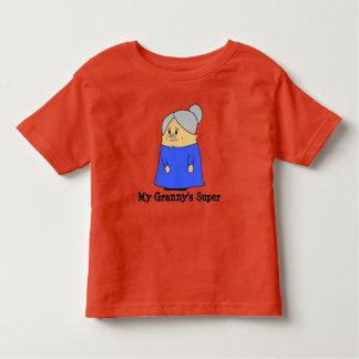 Mijn Oma, kinder spreuken, veranderingstekst Kinder Shirts
