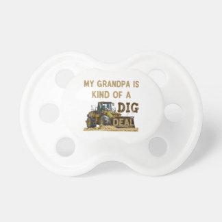Mijn Opa is Vriendelijk van een DIG Overeenkomst Baby Speentje