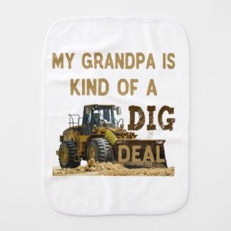 Mijn Opa is Vriendelijk van een DIG Overeenkomst Monddoekje