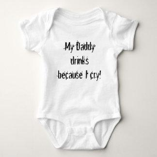 Mijn Papa drink omdat ik schreeuw! Romper