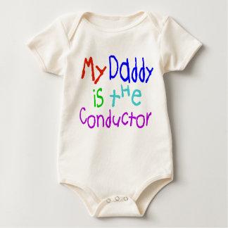 Mijn Papa is de Leider Baby Shirt