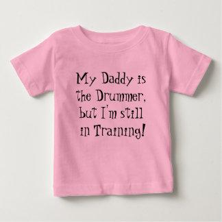 Mijn Papa is de Slagwerker, maar ik ben nog aan de Baby T Shirts