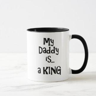 Mijn papa is een koning mok